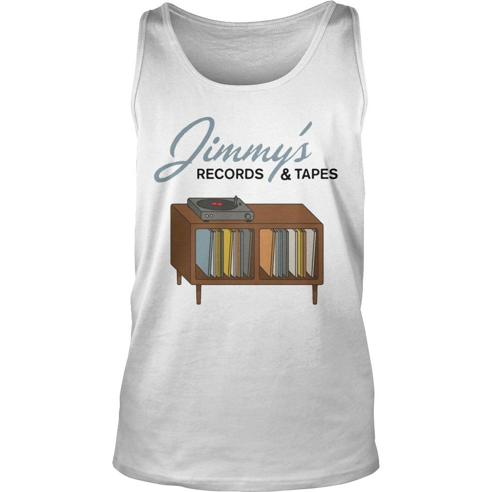 Jimmy's Records And Tapes Tank Top