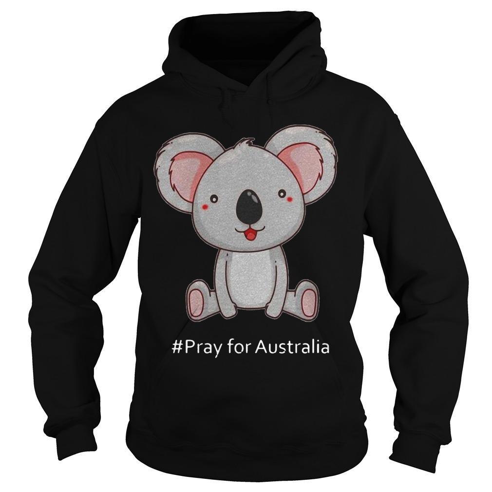 Koala #Pray For Australia Hoodie