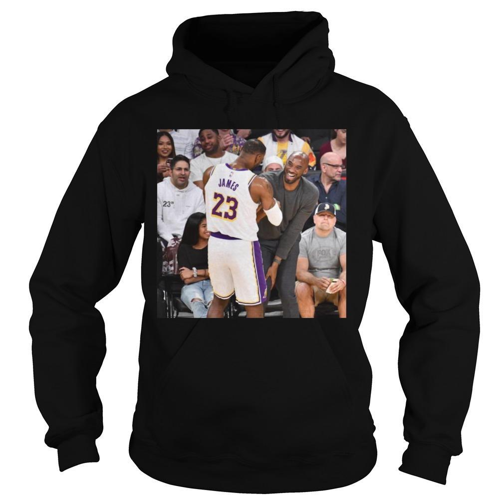 Lebron James Shake Kobe Bryant Hoodie