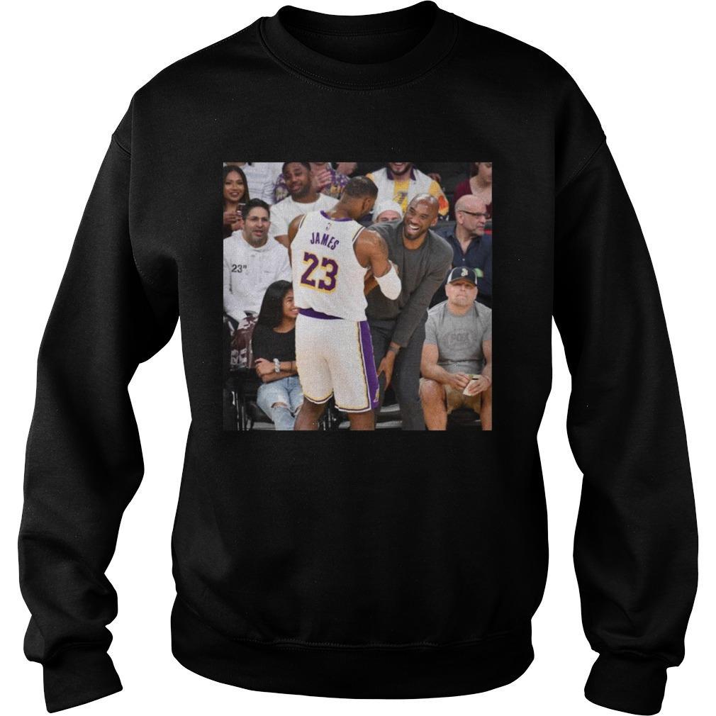 Lebron James Shake Kobe Bryant Sweater