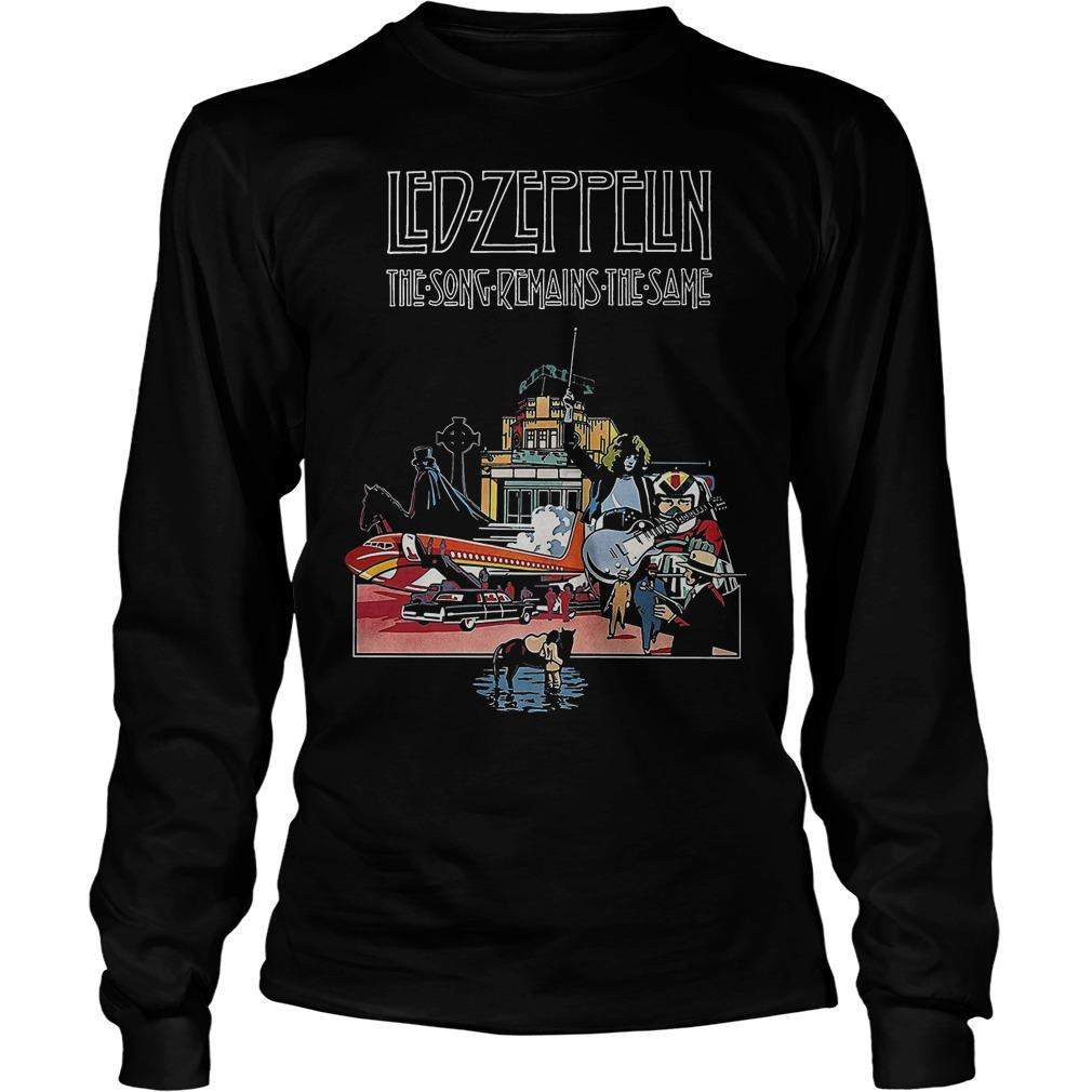 Led Zeppelin The Song Remains The Same Longsleeve