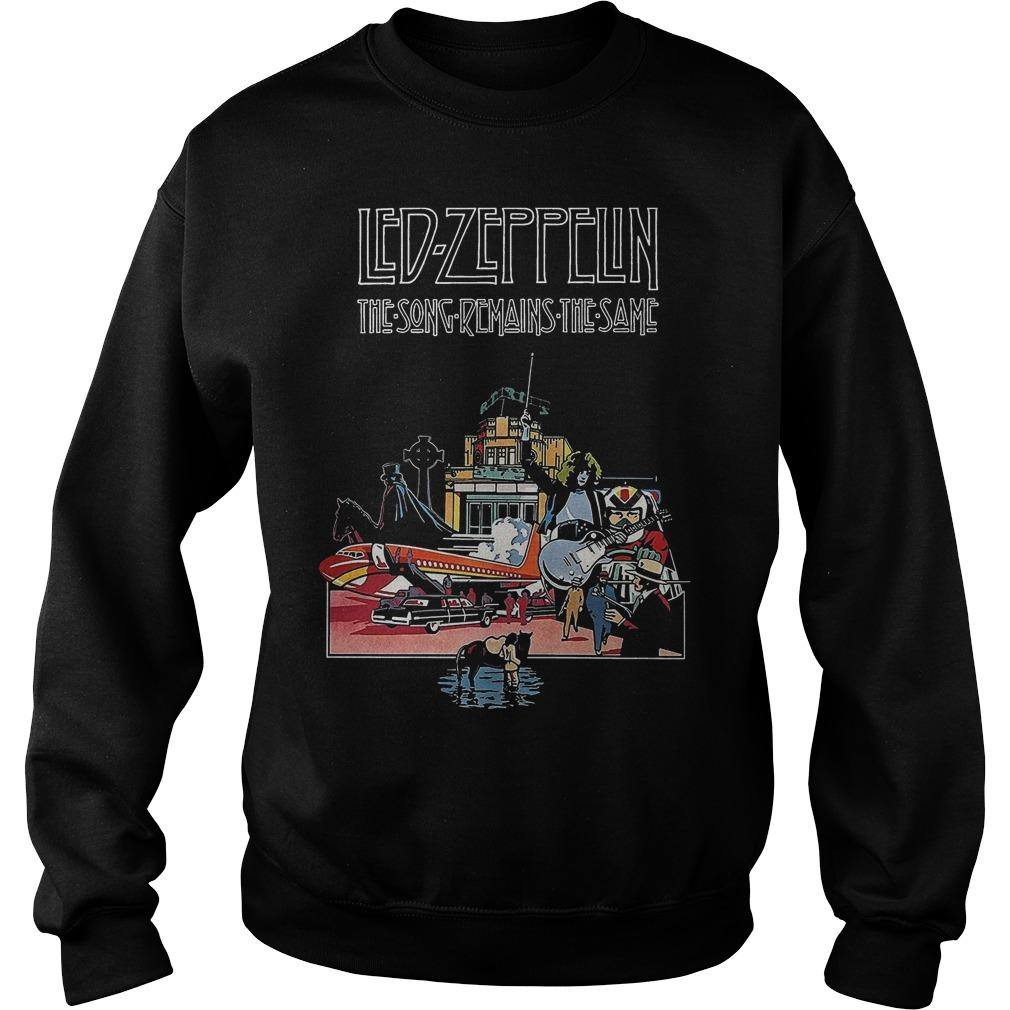 Led Zeppelin The Song Remains The Same Sweater
