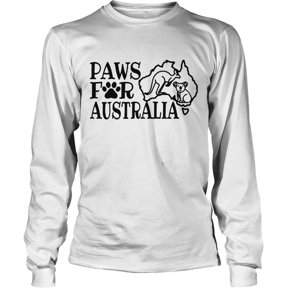 Paws For Australia Longsleeve