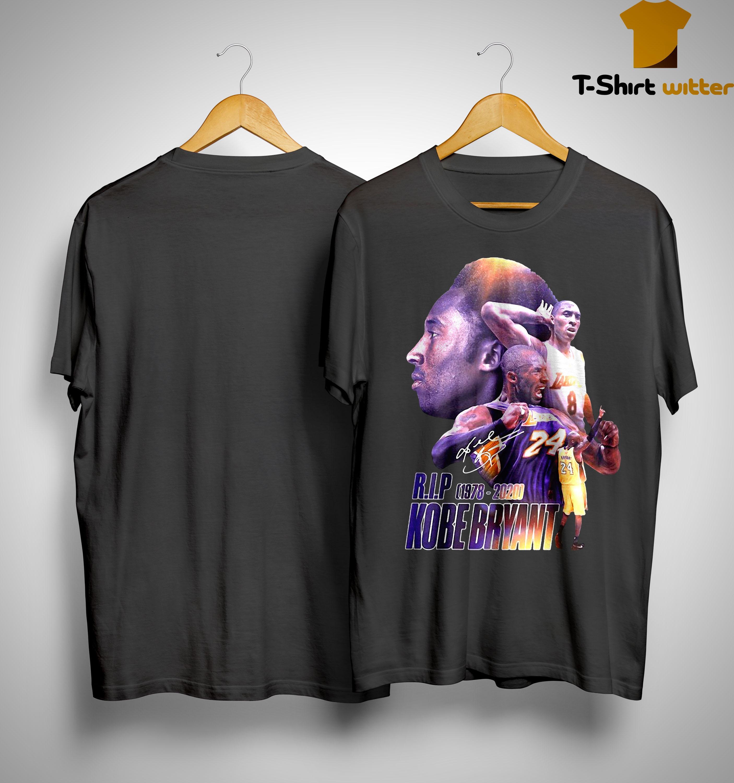 Rip Kobe Bryant 1978 2020 Shirt
