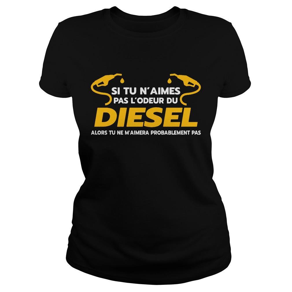 Si Tu N'aimes Pas L'odeur Du Diesel Hoodie
