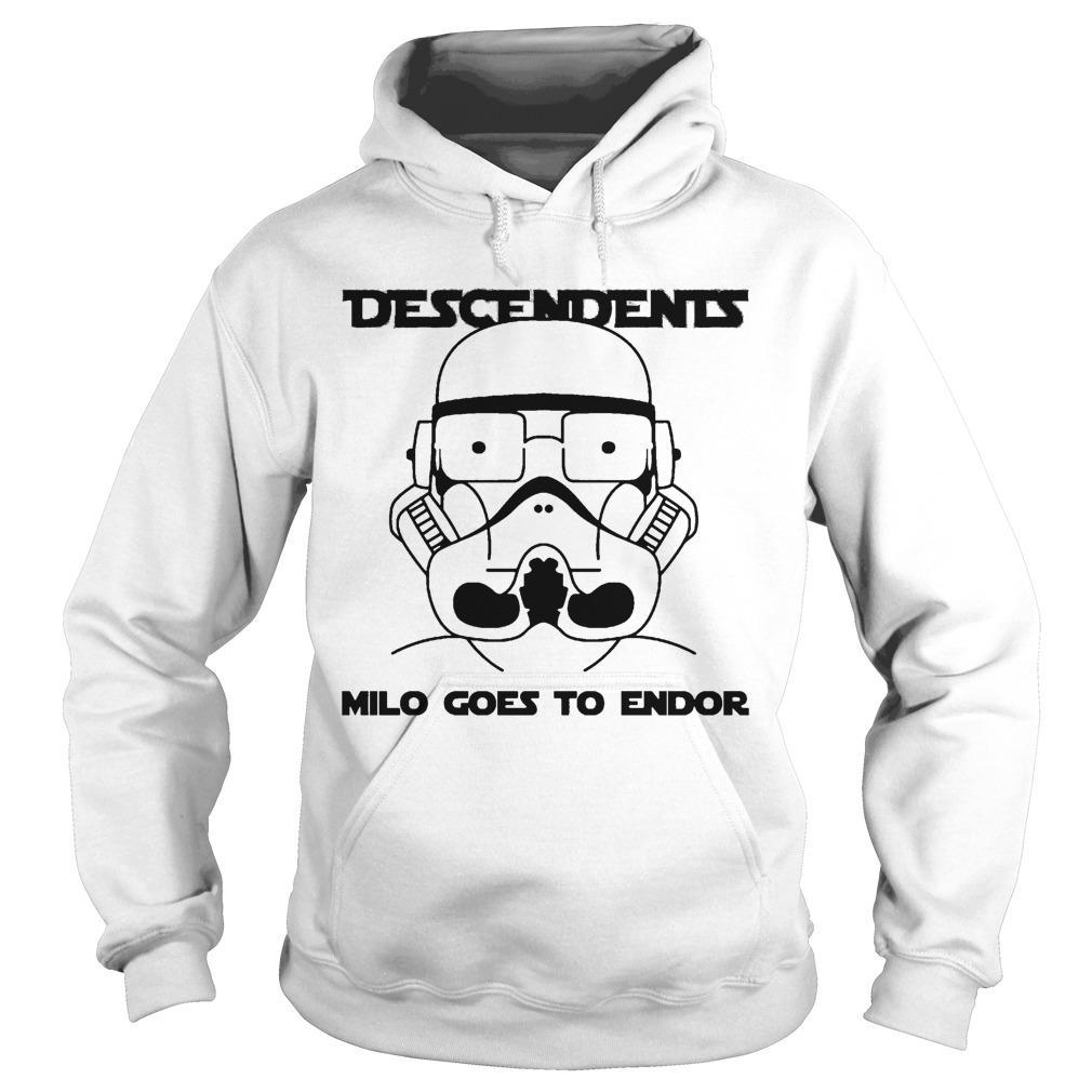 Stormtrooper Descendents Milo Goes To Endor Hoodie