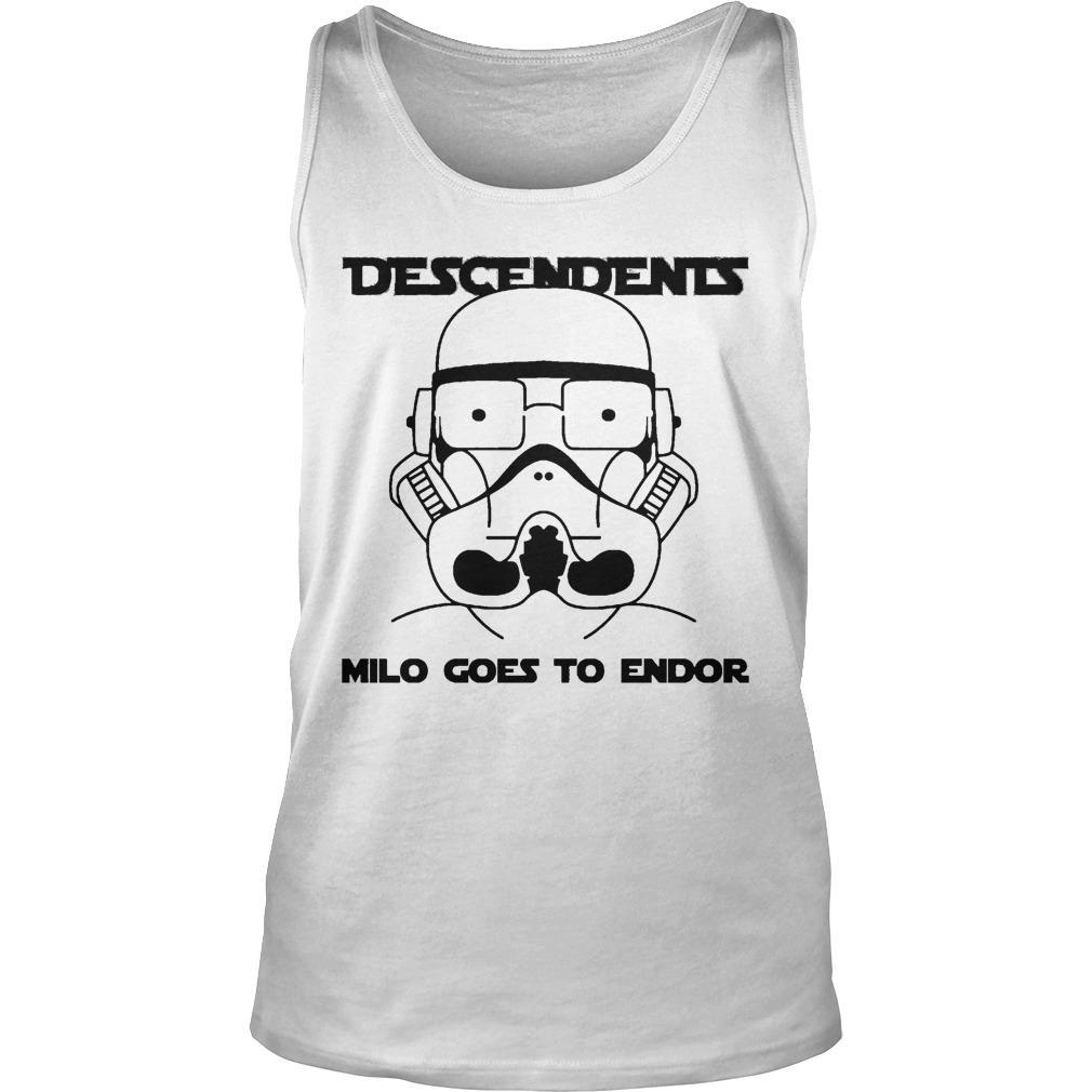 Stormtrooper Descendents Milo Goes To Endor Tank Top