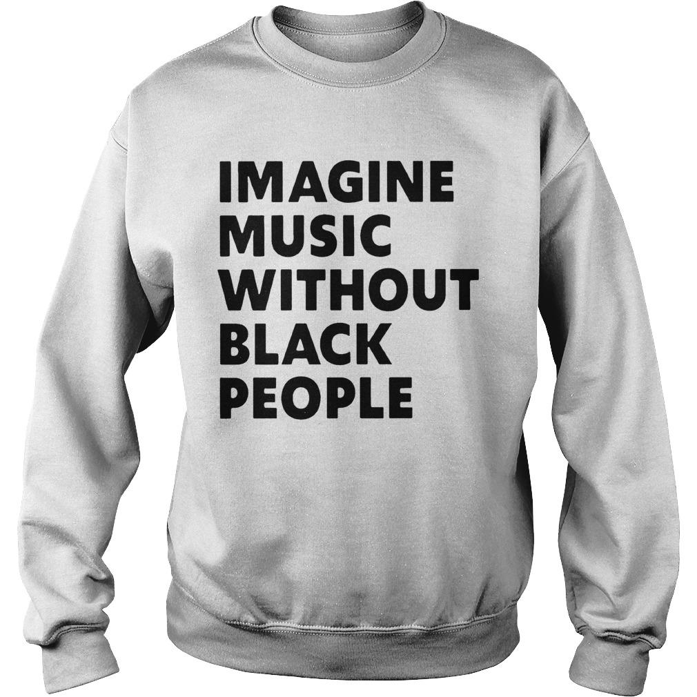 African Pride Imagine Music Without Black People Sweater