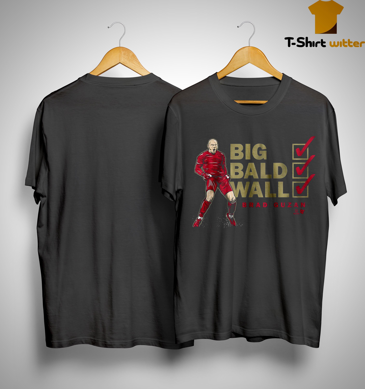 Brad Guzan Big Bald Wall Shirt