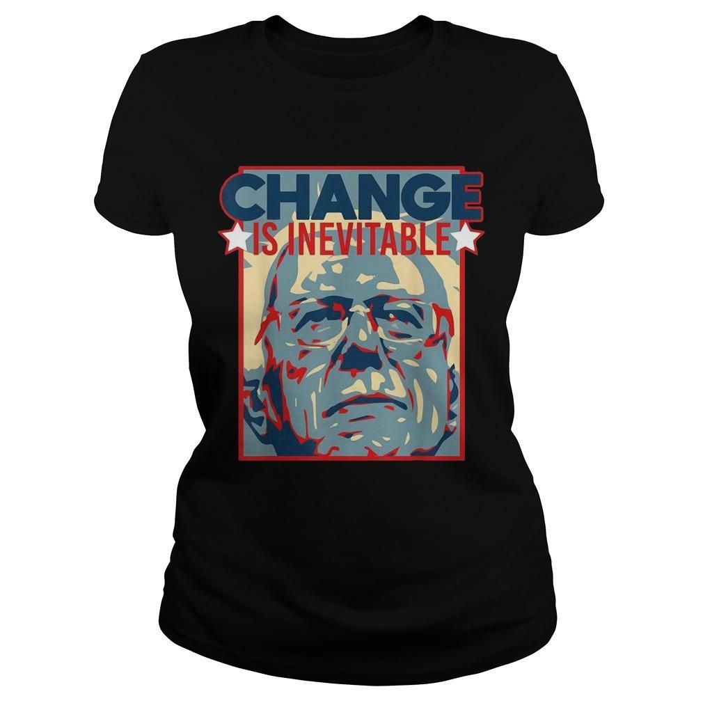 Change Is Inevitable Bernie Sanders 2020 Longsleeve