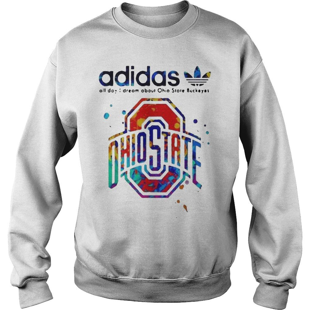 Colors Adidas All Day I Dream About Ohio State Buckeyes Sweater