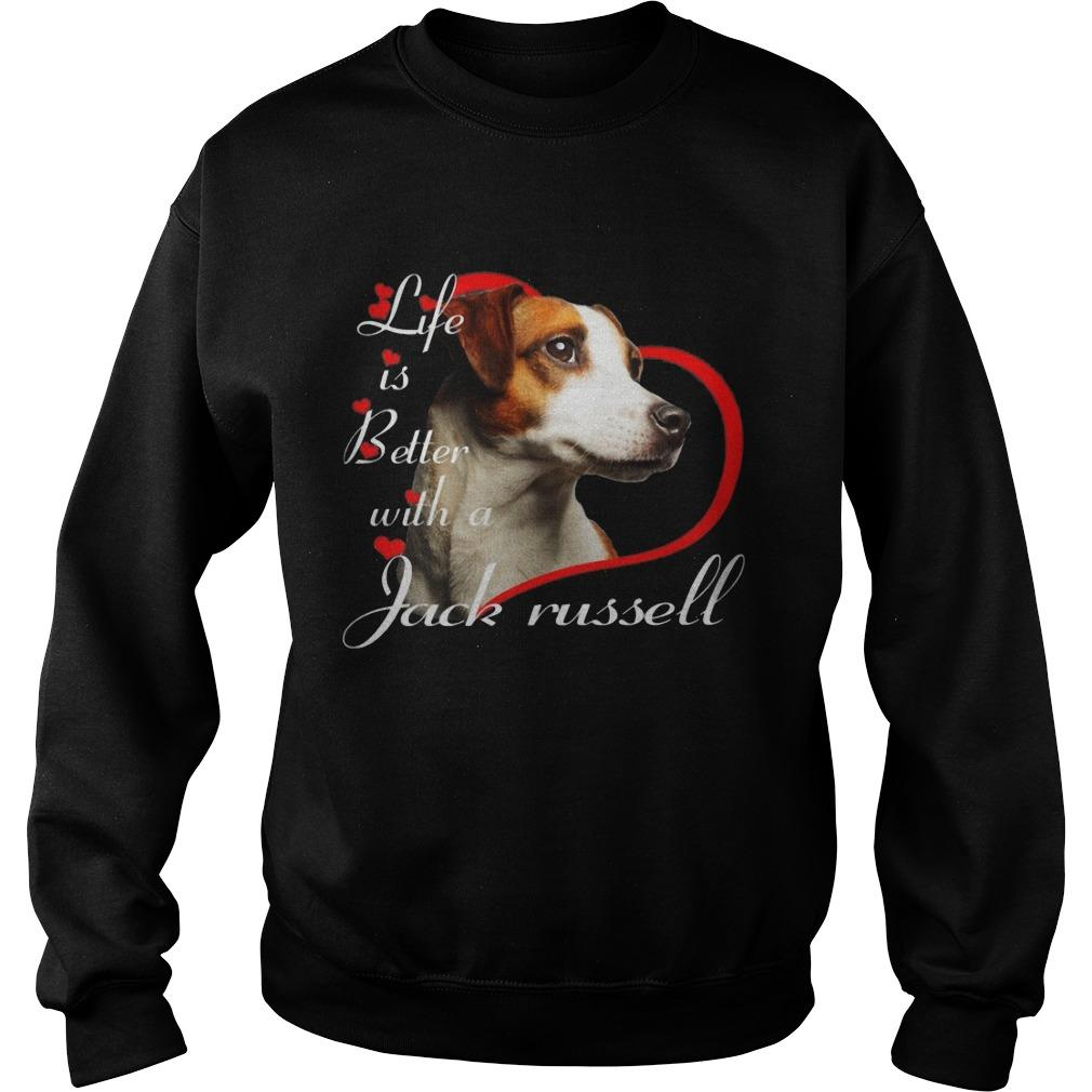 Life Is Better With A Jack Russell Sweater