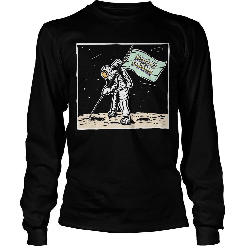 Moon Man Zillion Beers Longsleeve