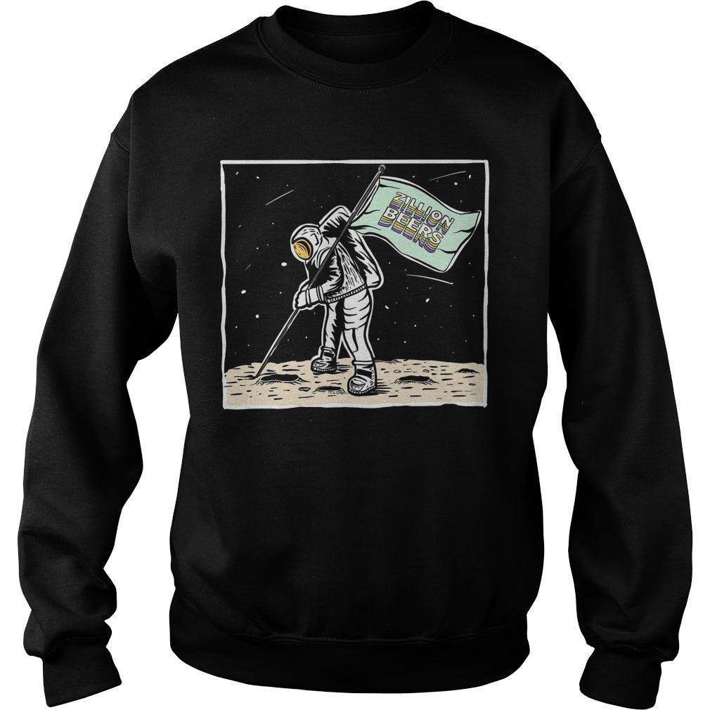 Moon Man Zillion Beers Sweater