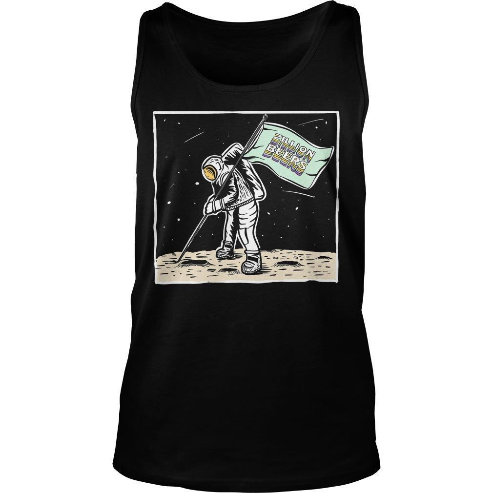 Moon Man Zillion Beers Tank Top
