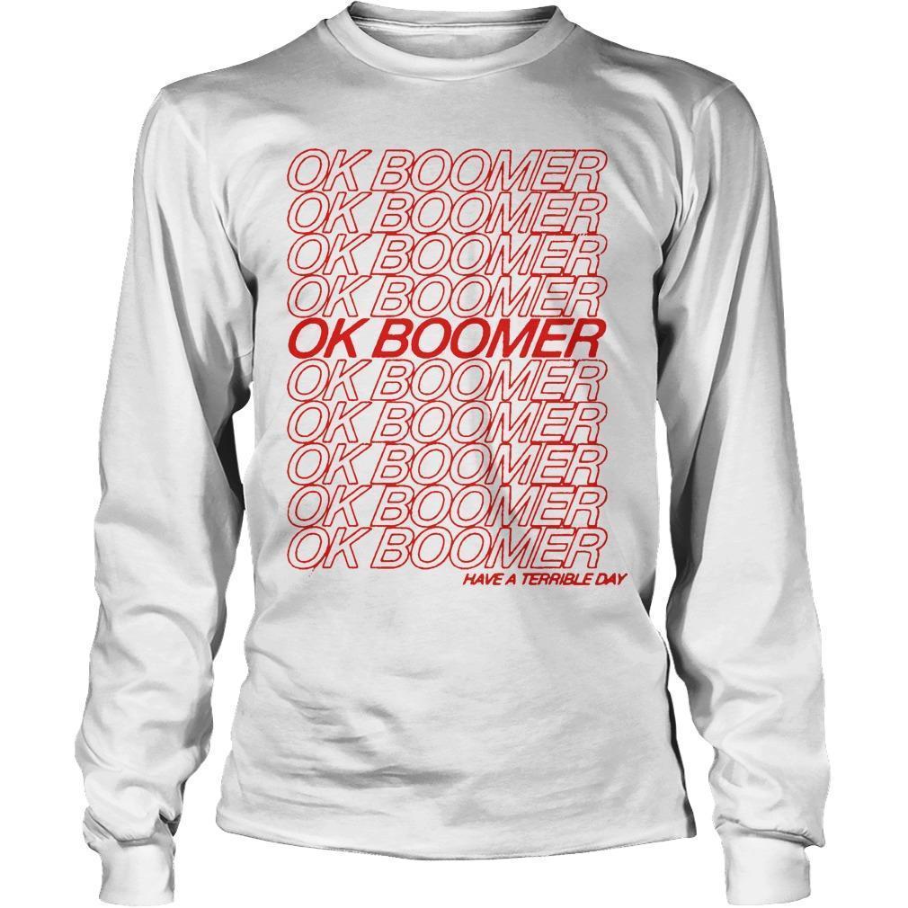 Ok Boomer Longsleeve