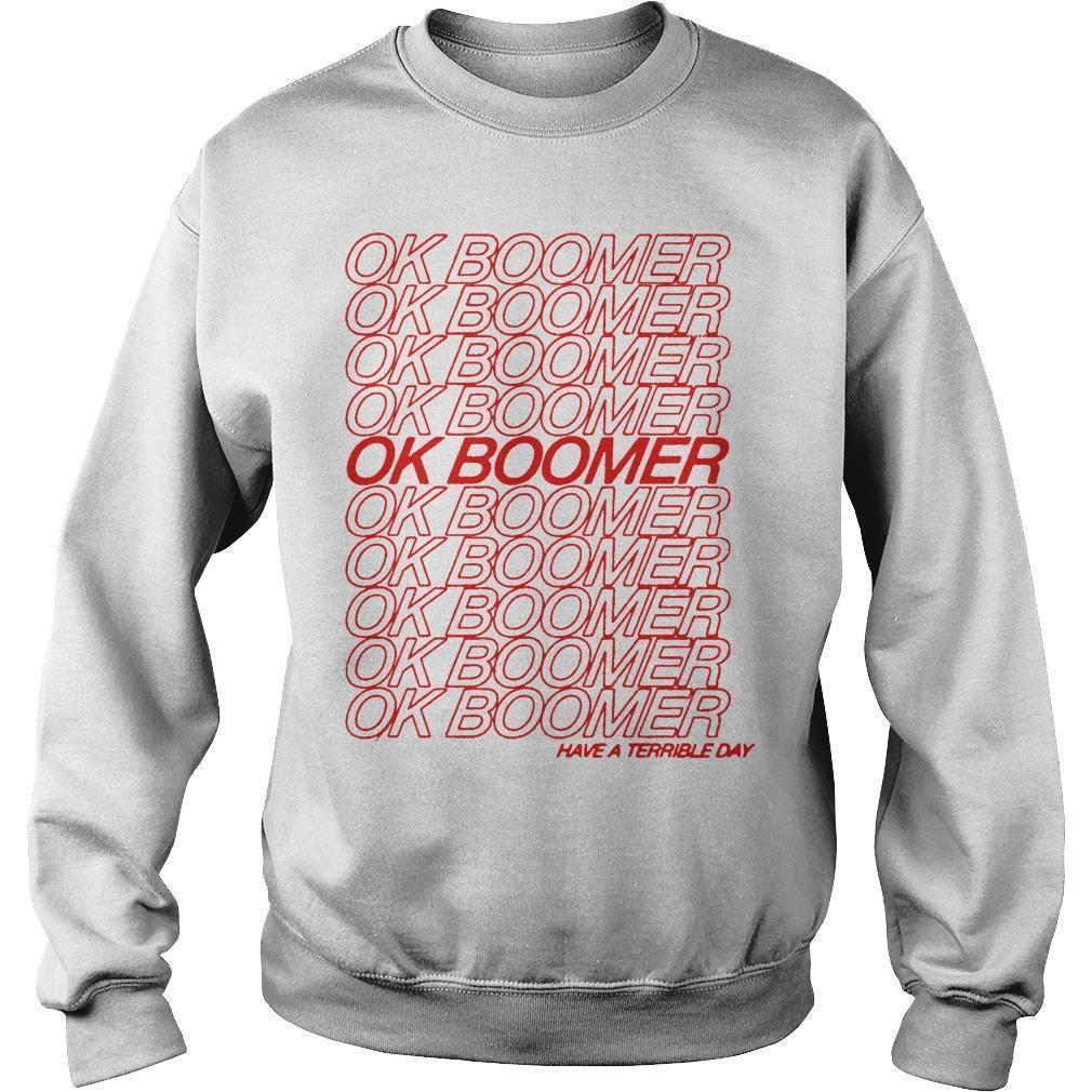 Ok Boomer Sweater