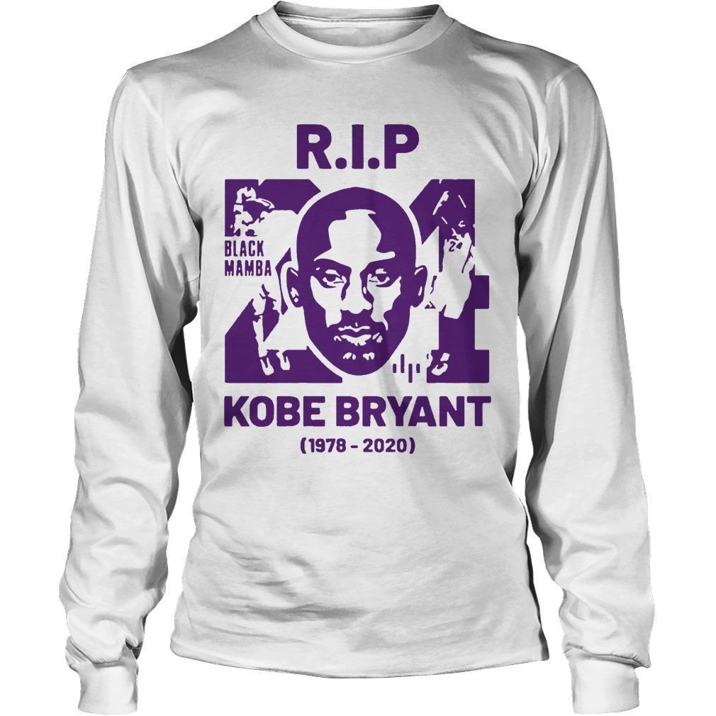 Rip Kobe Bryant 24 Black Mamba 1978 2020 Longsleeve