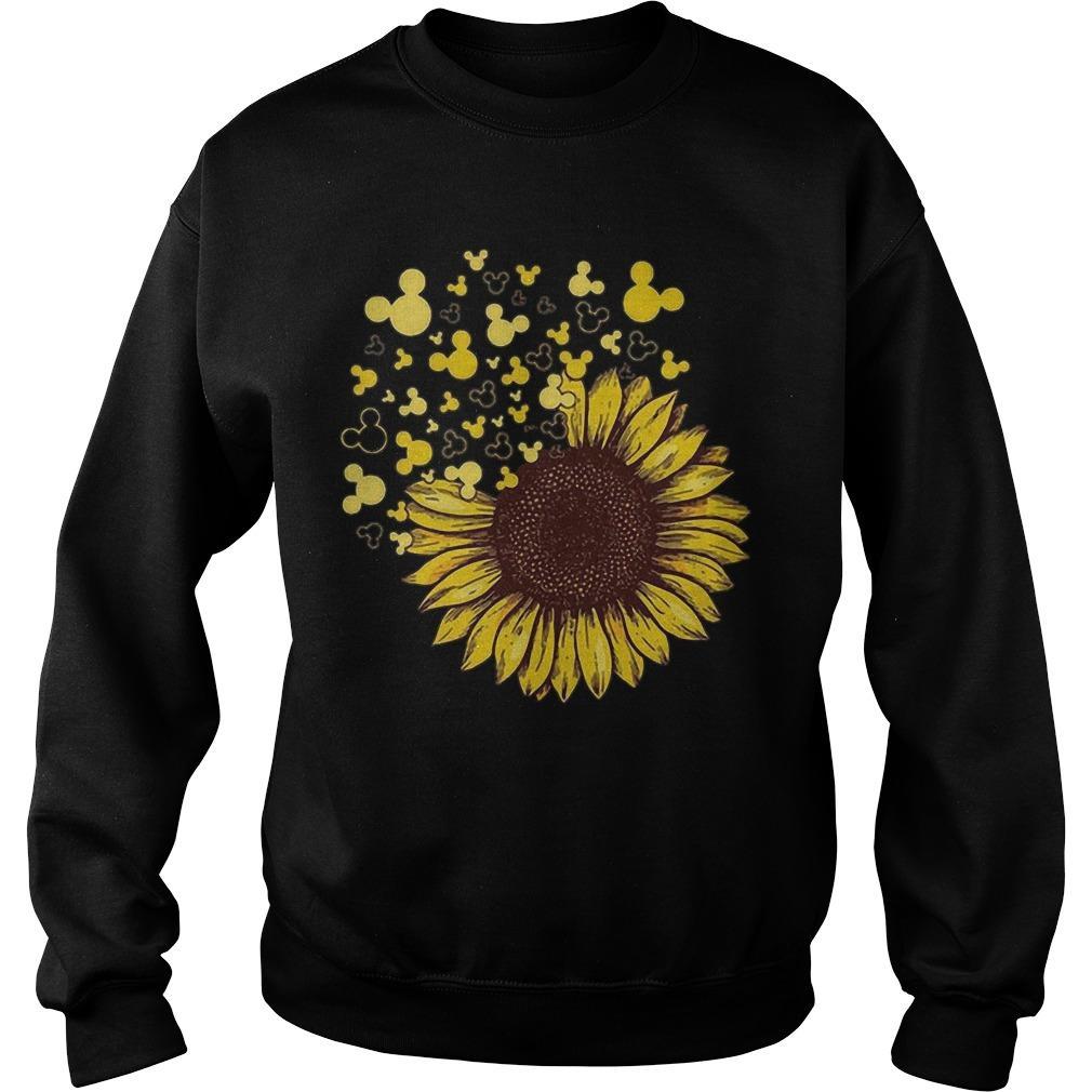 Sunflower Mashup Mickey Head Sweater