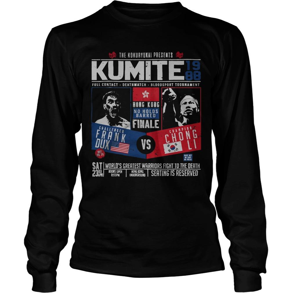 The Kokuryukai Presents Kumite 1988 Longsleeve