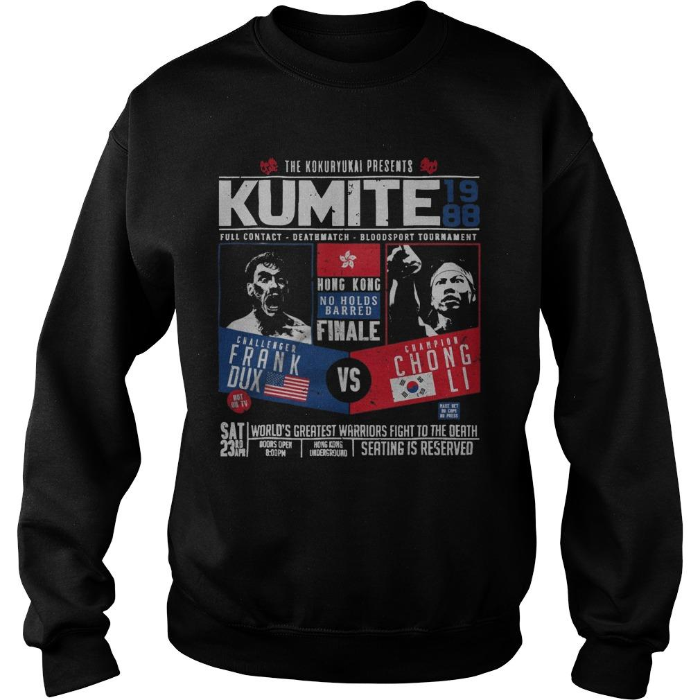 The Kokuryukai Presents Kumite 1988 Sweater