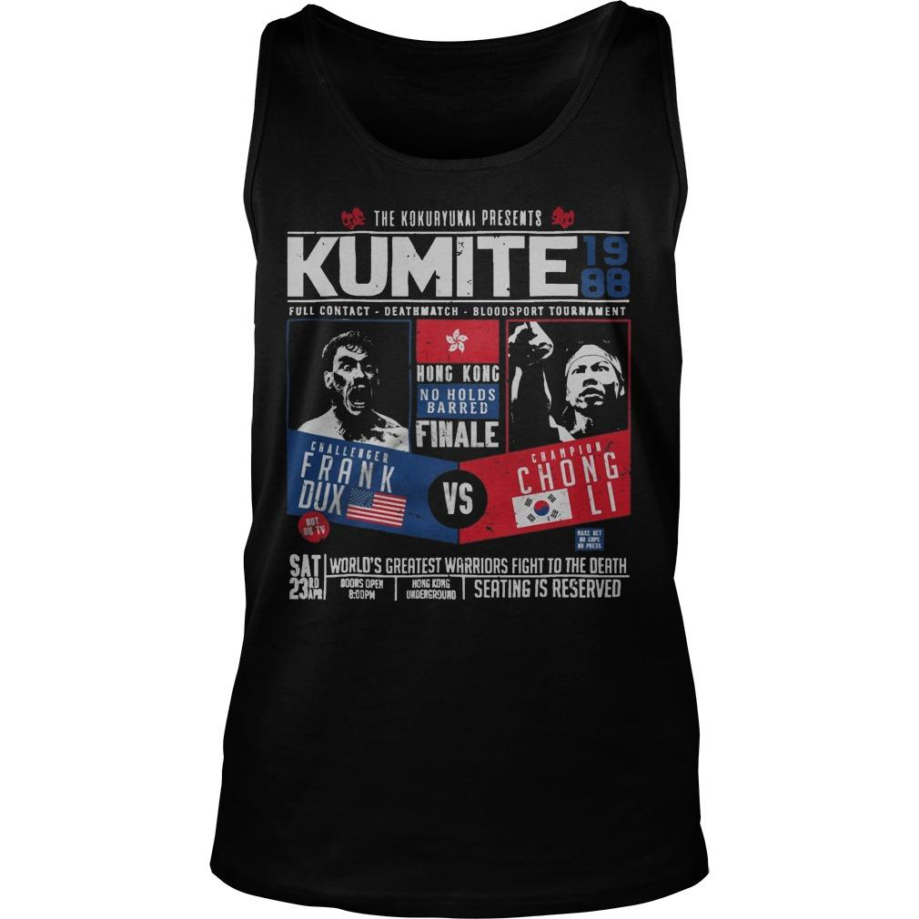 The Kokuryukai Presents Kumite 1988 Tank Top