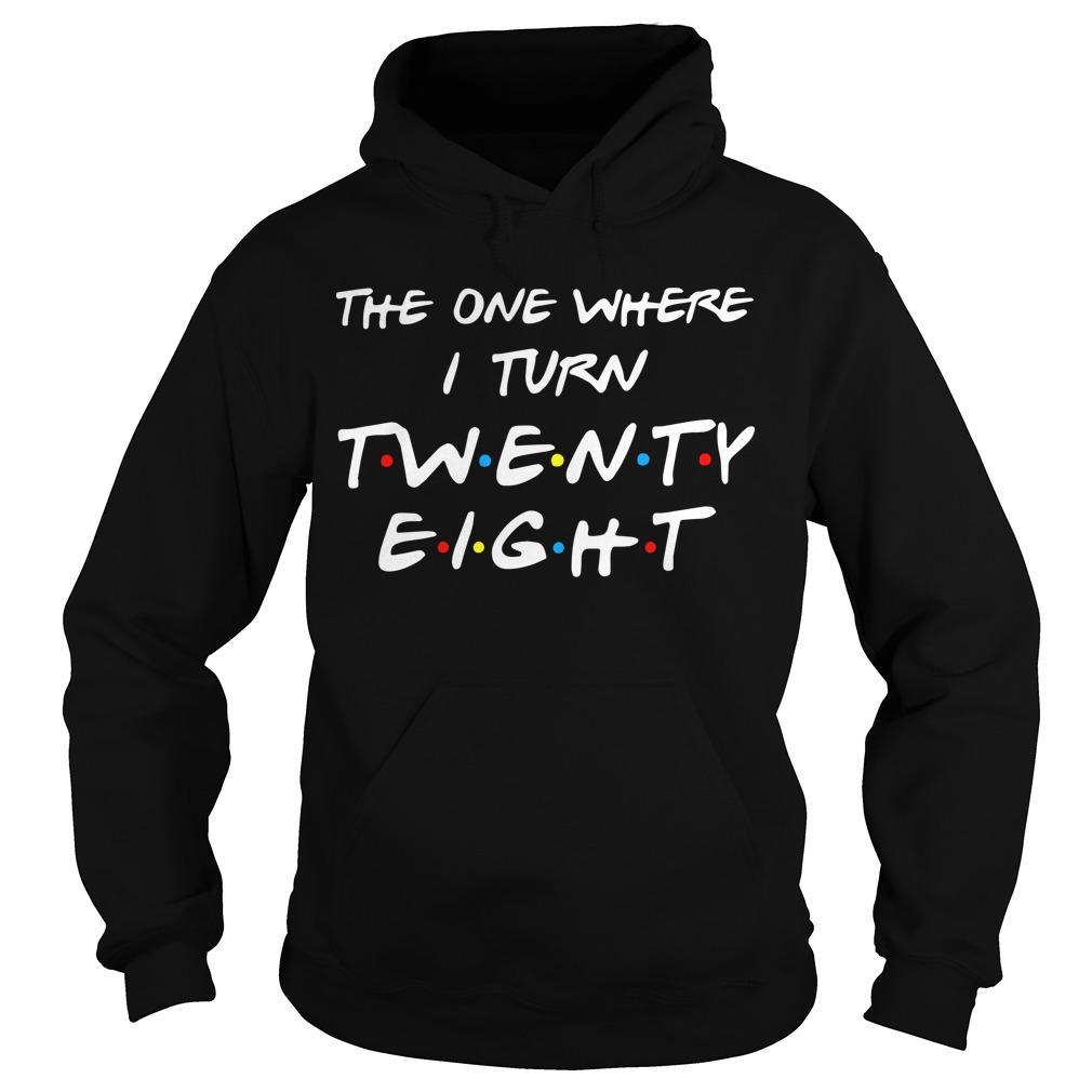The One Where I Turn Twenty Eight Hoodie