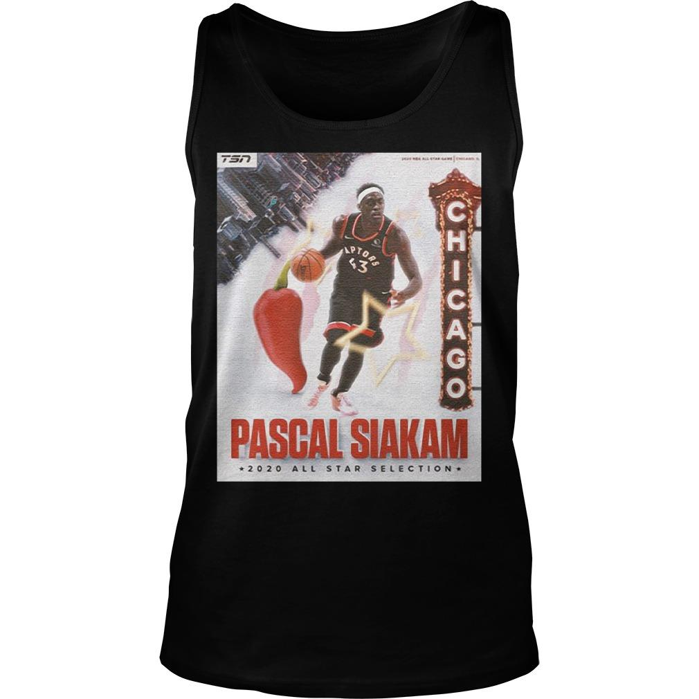 Too Spicy Nba Pascal Siakam All Star Selection Tank Top