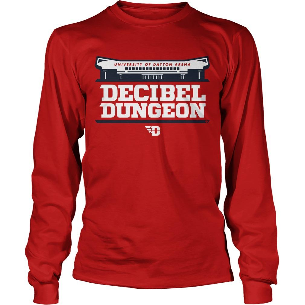University Of Dayton Arena Decibel Dungeon Longsleeve