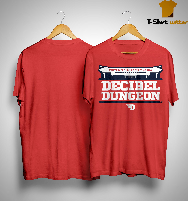 University Of Dayton Arena Decibel Dungeon Shirt