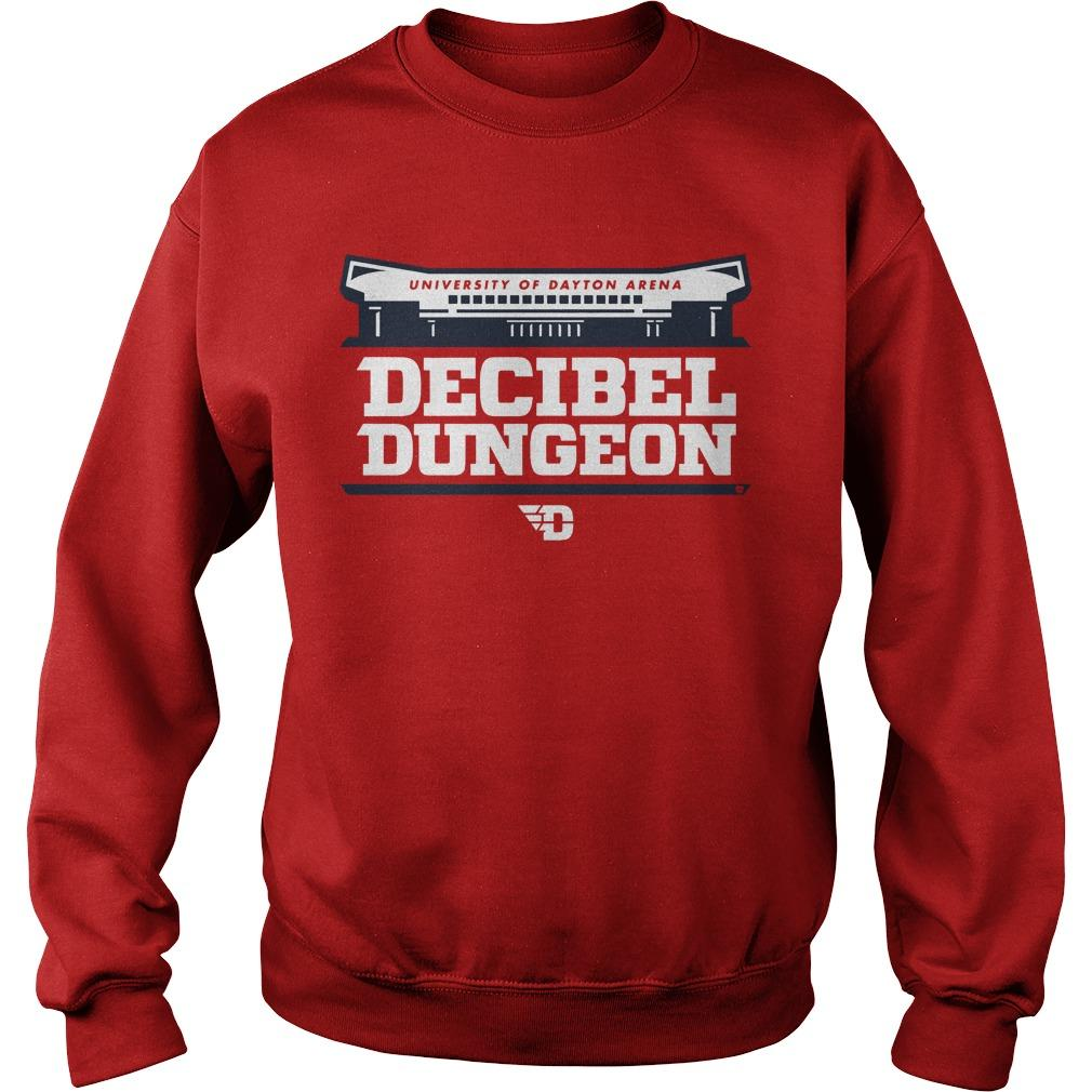 University Of Dayton Arena Decibel Dungeon Sweater