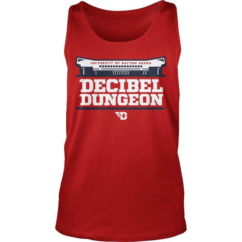 University Of Dayton Arena Decibel Dungeon Tank Top
