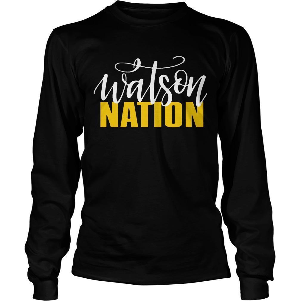 Watson Nation Longsleeve