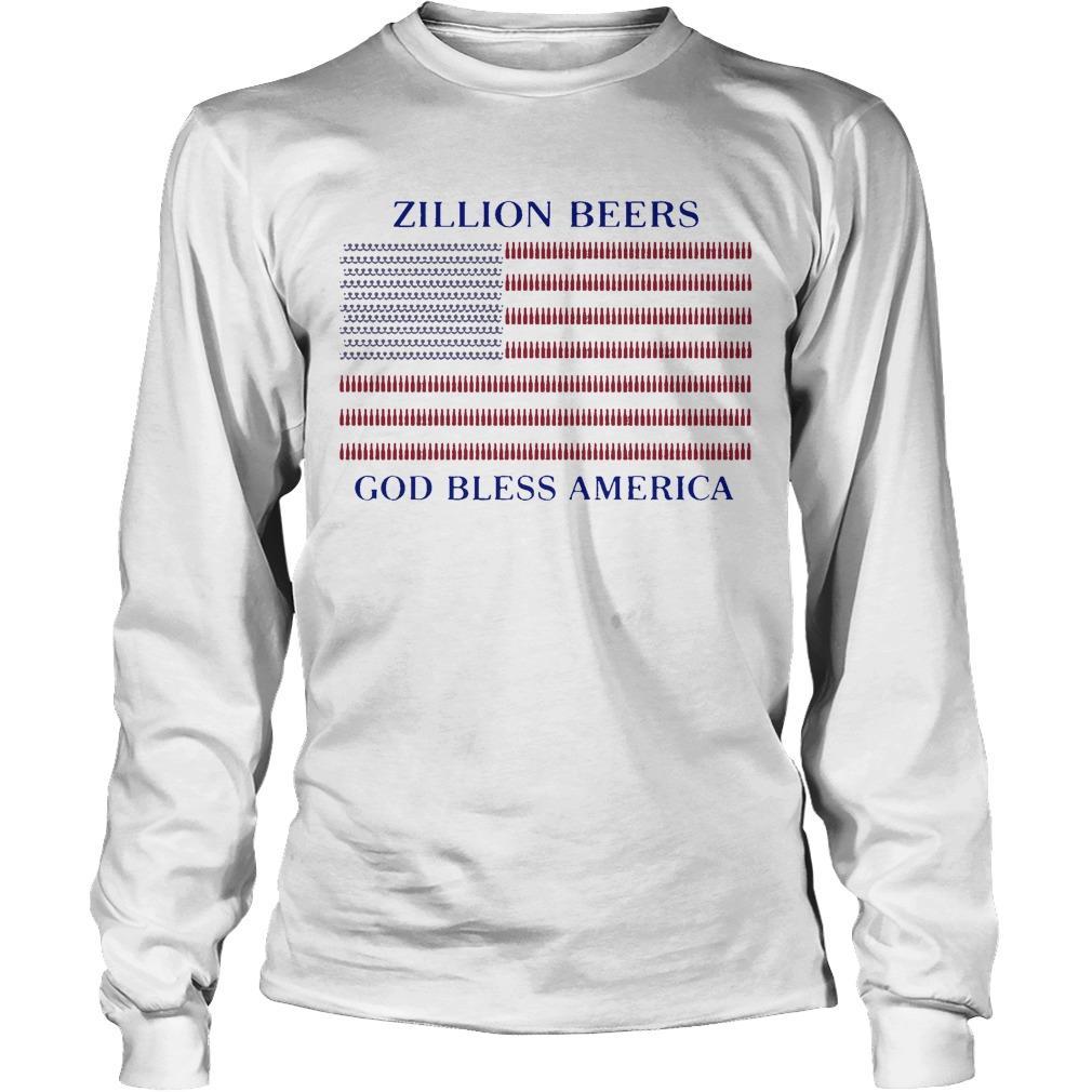Zillion Beers God Bless America Longsleeve