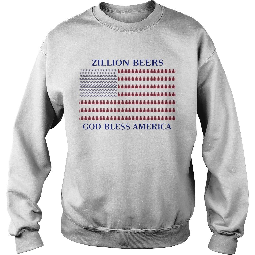 Zillion Beers God Bless America Sweater