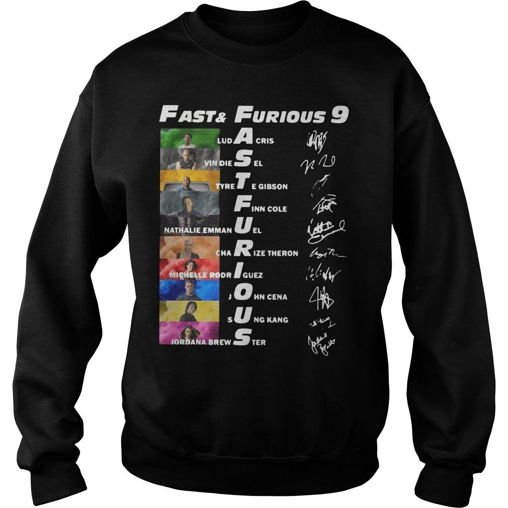 Fast And Furious 9 Ludacris Vin Diesel Tyrete Gibson Finn Cole Sweater