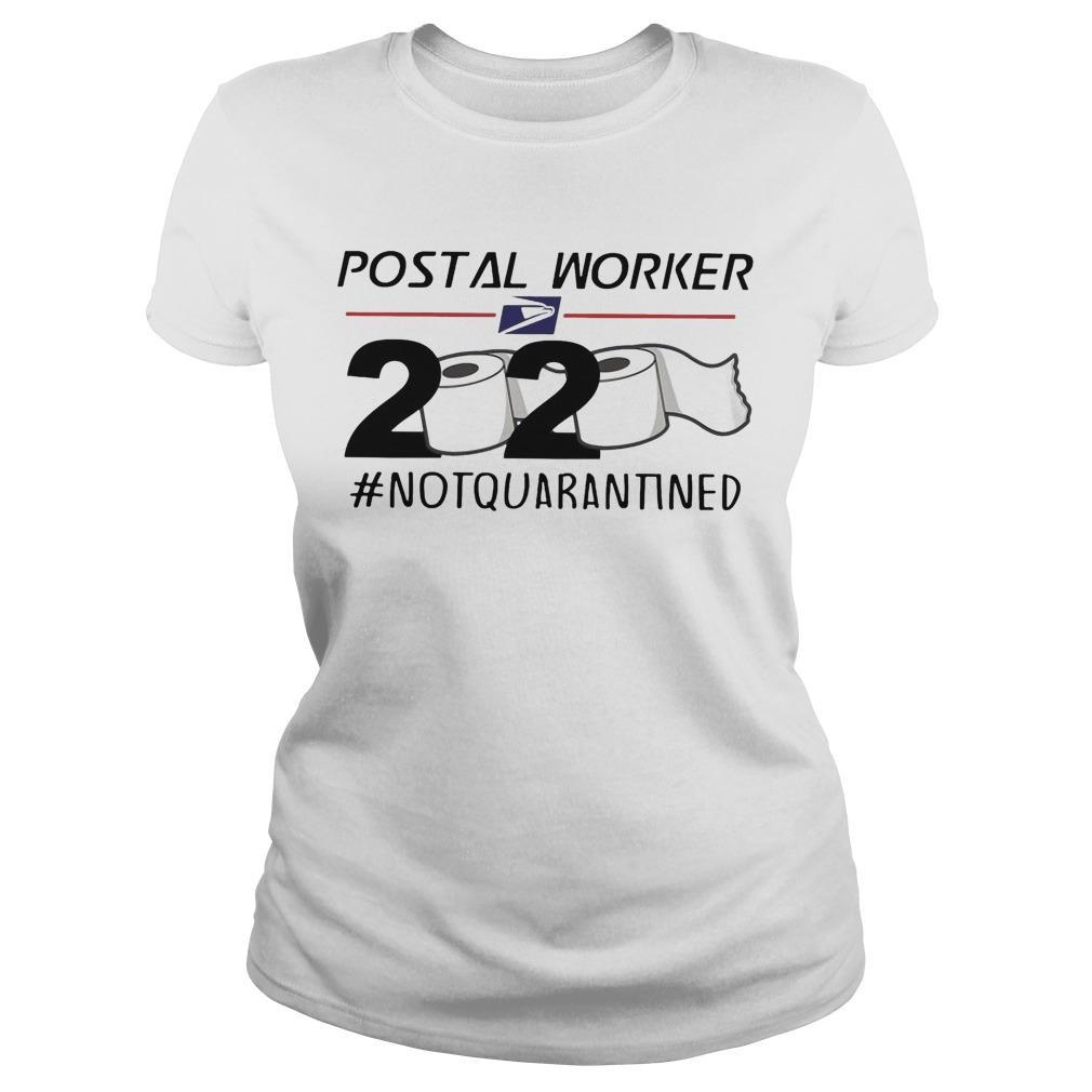 Postal Worker 2020 #notquarantined Longsleeve