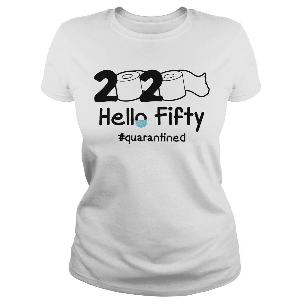 2020 Hello Fifty #quarantined Longsleeve
