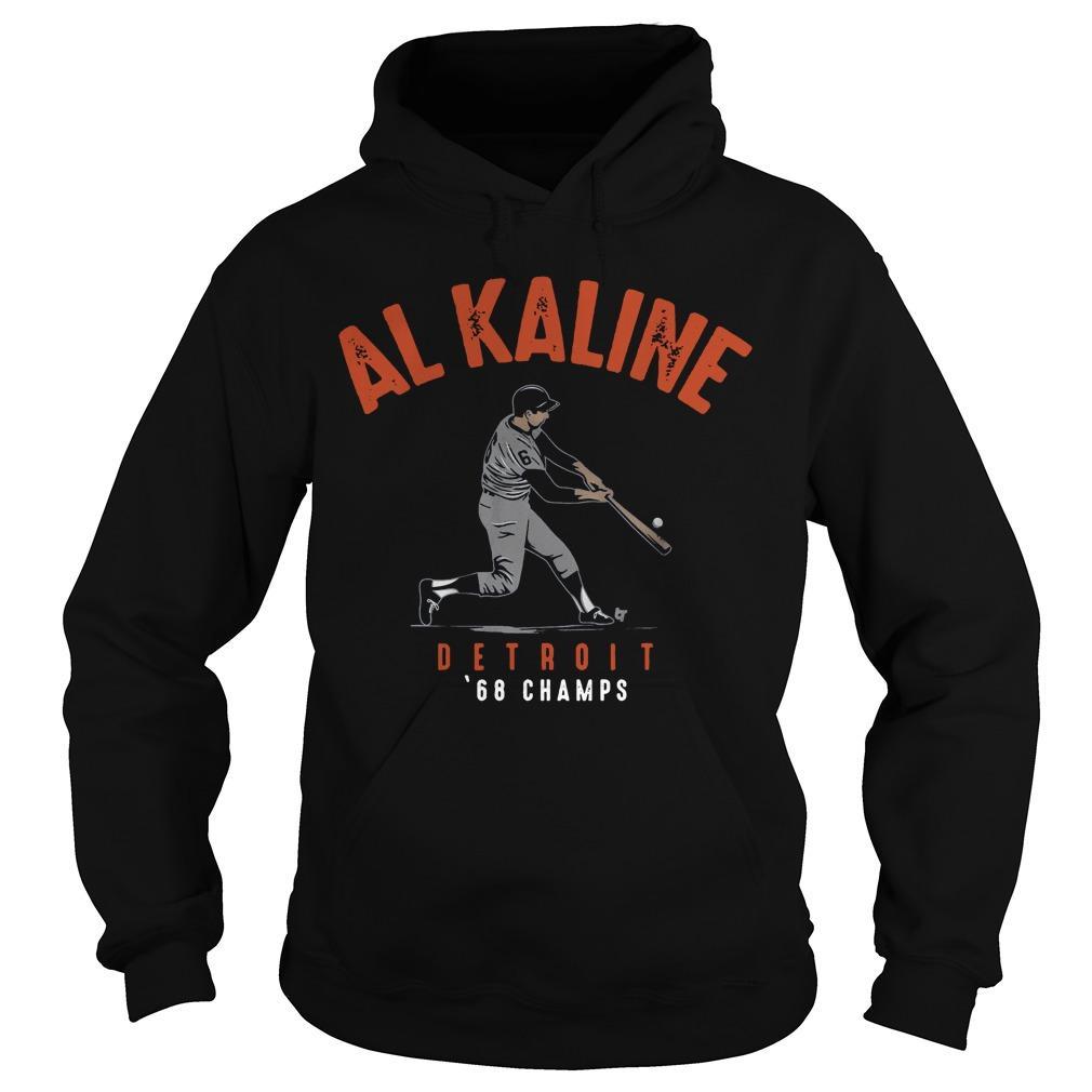 Al Kaline Detriot 68 Champs Hoodie