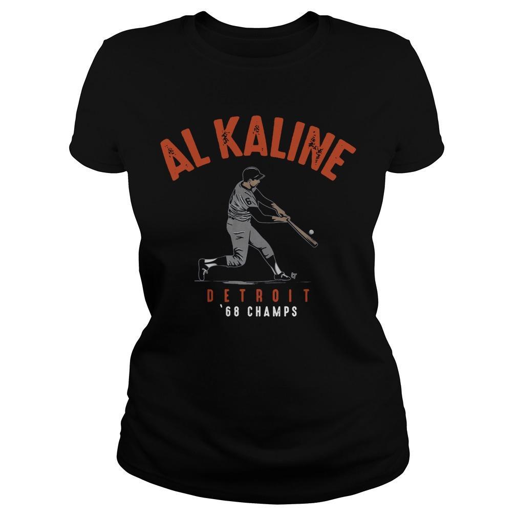 Al Kaline Detriot 68 Champs Longsleeve