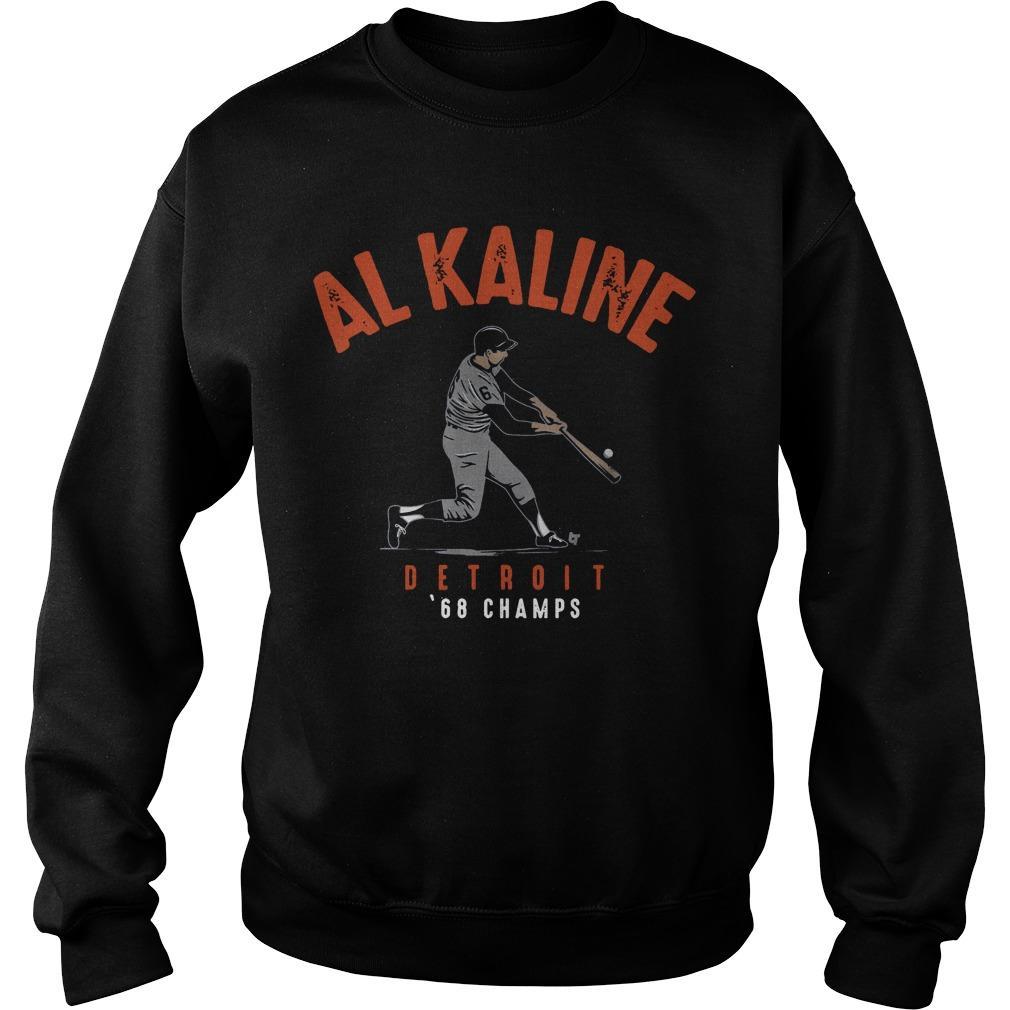 Al Kaline Detriot 68 Champs Sweater