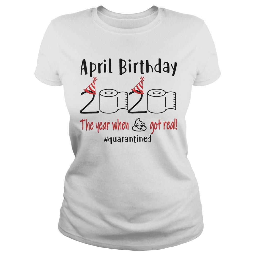 April Birthday Quarantine Longsleeve