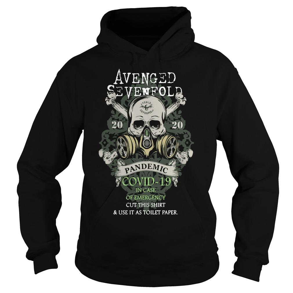 Avenged Sevenfold 2020 Pandemic Covid 19 In Case Of Emergency Hoodie