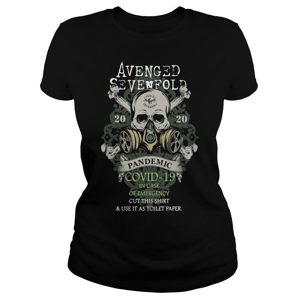 Avenged Sevenfold 2020 Pandemic Covid 19 In Case Of Emergency Longsleeve