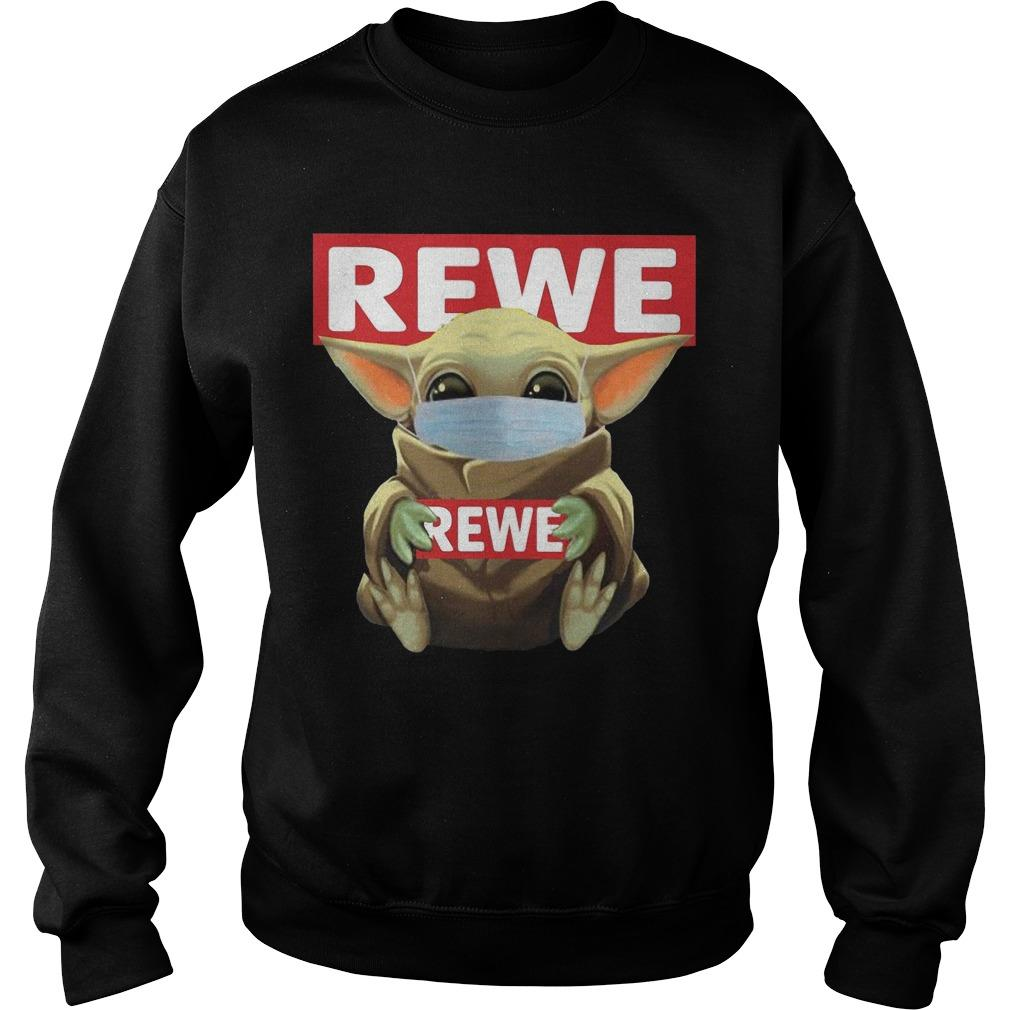 Baby Yoda Mask Rewe Sweater