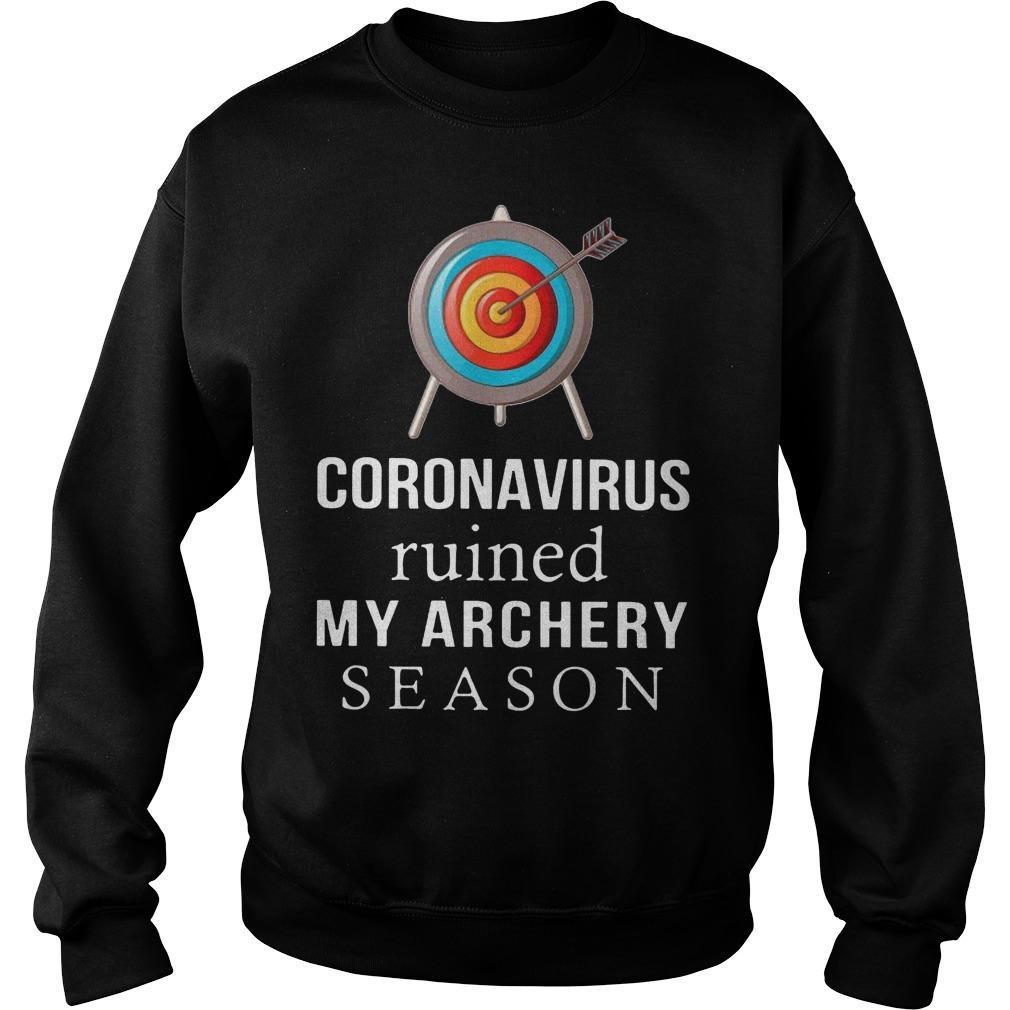 Coronavirus Ruined My Archery Season Sweater