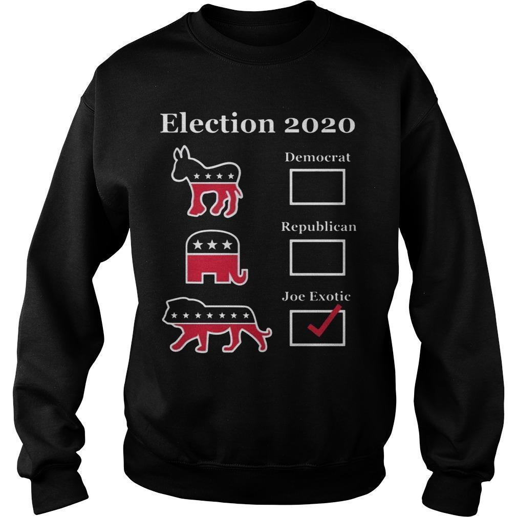 Joe Exotic Campaign Sweater