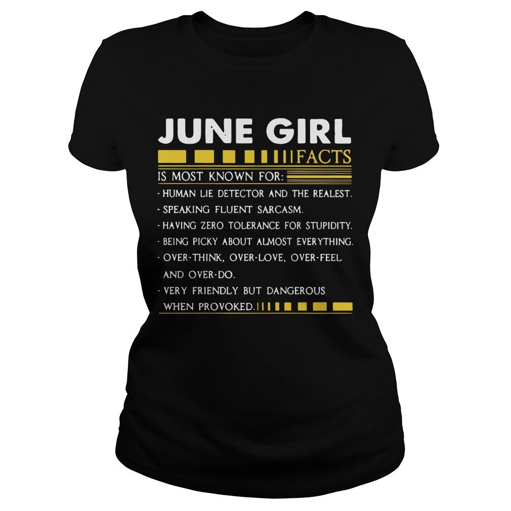 June Girl Facts Is Most Known For Human Lie Detector And The Realest Longsleeve