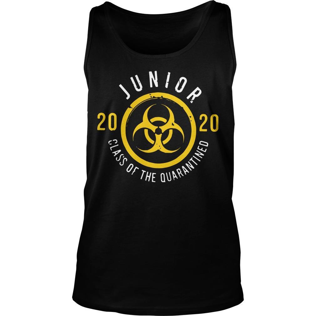 Junior 2020 Class Of The Quarantined Tank Top
