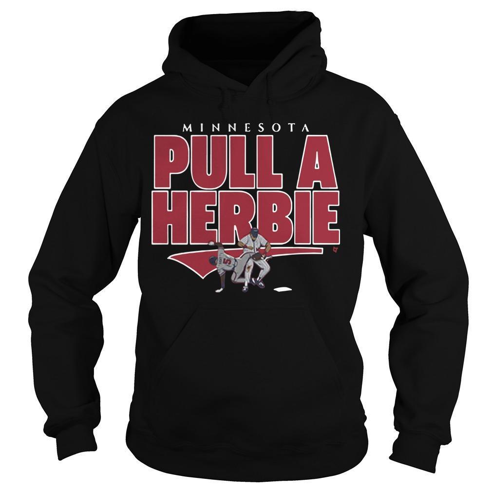 Kent Hrbek Minnesota Pull A Herbie Hoodie